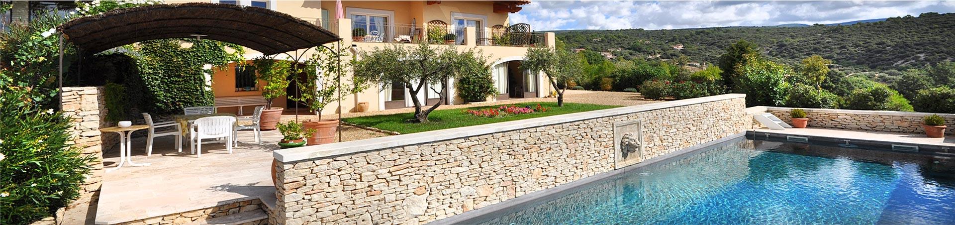 Mas Villa et propriétés achat et vente Luberon