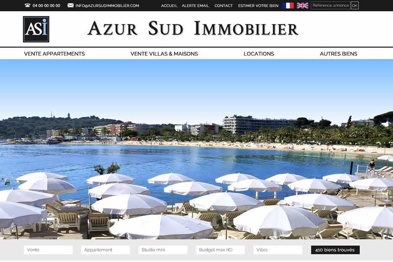 Photos Bienvenue sur le nouveau site internet de Azur Sud Immobilier